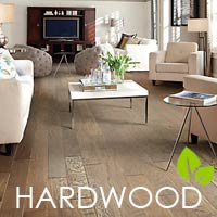 Be kind to your planet - stop by to see our selection of eco-friendly hardwood flooring.